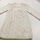 Robe en laine bio Torsadée
