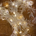 Guirlande lumineuse blanche pailletée luciole