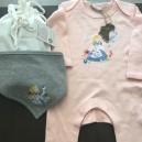 Coffret cadeau Pyjama et  Bandana Alice aux Pays des M 100% coton bio