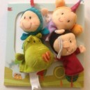 Marionnettes à doigt et décor Conte