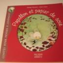 Papillon et papier de soie