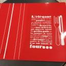 Set de Table gris  L'Elégant