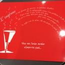 Set de Table rouge L'Ingénue