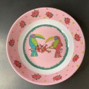 Assiette Toucan