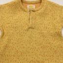 T-Shirt Jaune moucheté Corail  3-6 mois Réversible