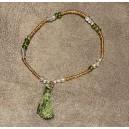 Bracelet Pompon Vert