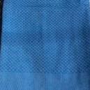 Fouta Bleu Nid D'abeille