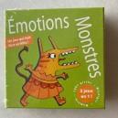 Jeu de cartes Emotions Monstres