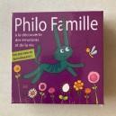 Jeu de cartes Philo Famille